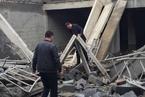 山东菏泽一在建房屋坍塌