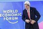 美国国务卿克里出席2017达沃斯论坛