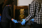 大英博物馆100件文物陆续抵京 将在国博展出