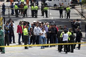 哥伦比亚首都波哥大发生爆炸