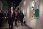 特朗普参观非裔美国人博物馆 伊万卡陪同