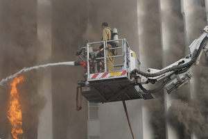 新德里《印度时报》大厦发生大火