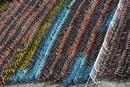 沪数千辆共享单车被扣停车场