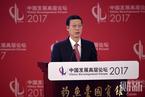张高丽出席中国发展高层论坛