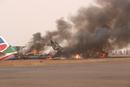 南苏丹客机着陆时失事 飞机损毁无人员死亡