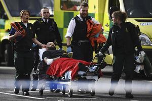英国议会大厦外发生恐袭