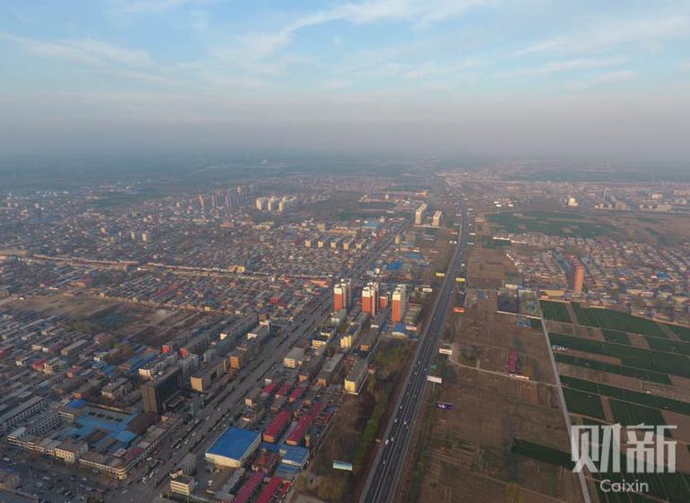 雄安新区诞生.雄安新区规划范围涉及河北省雄县、容城、安新3县