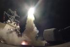美国向叙利亚发射数十枚导弹 回应毒气袭击事件