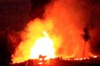 墨西哥一辆油罐车与大巴追尾爆炸 已致24人死亡