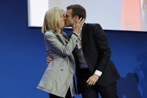 """马克龙和勒庞将入围法国总统选举""""决赛"""""""
