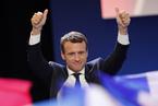 """马克龙杀入法国总统大选""""决赛"""""""