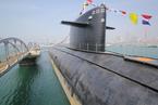 """中国首艘核潜艇""""长征一号""""对公众开放"""