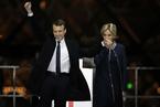 马克龙击败勒庞赢得法国总统大选
