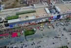 沈阳一商场楼顶建三个足球场 楼顶球场刺激拉风