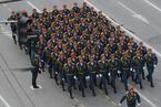 俄罗斯为纪念卫国战争胜利72周年举行阅兵仪式