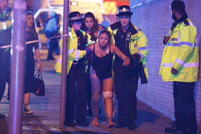 """曼城恐袭现场照或遭美泄漏 英国愤怒称""""不会有下次"""""""