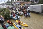 斯里兰卡洪水和山体滑坡致177人死亡
