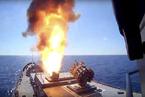 俄罗斯海军向叙利亚发射巡航导弹