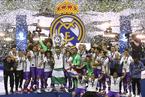 欧冠决赛:皇马4-1大胜尤文图斯卫冕捧杯
