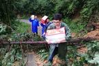 暴雨冲毁道路 江西奉新县350多人被困山区