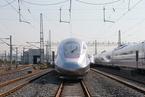 """""""复兴号""""京沪双向首发 试验速度可达400公里/小时"""