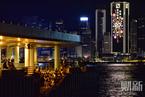 烟花点亮维港夜空 财新记者见证香港回归20周年纪念日