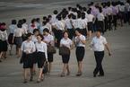 朝鲜夏日街头万象