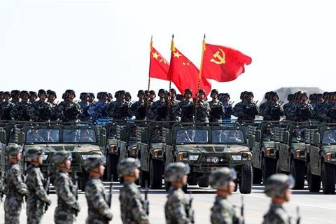 庆祝中国人民解放军建军90周年阅兵举行 习近平发表重要讲话