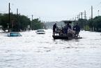"""飓风""""哈维""""重创得克萨斯 已致5人死亡"""