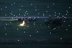 内蒙古一男子向心爱姑娘表白 打造浪漫草原星空