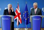 """英欧开启第三轮英国""""脱欧""""谈判"""
