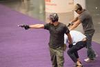 香港警方进行反恐演习 现场犹如TVB警匪片
