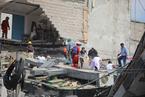 墨西哥城市中心一座写字楼因地震倒塌 至少5名台胞被困