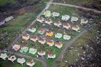 """航拍多米尼加飓风灾区 房屋遭""""剃头""""损毁严重"""