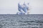 意大利飞行表演空军战斗机坠海 飞行员遇难