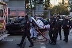 纽约发生卡车撞人恐袭 已致8人死亡