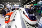 中国轨道交通展在上海开幕 复兴号成最大明星
