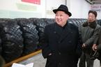 金正恩视察洲际弹道导弹发射车轮胎生产厂
