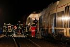 德国北威州两辆火车相撞 已致至少50人受伤