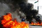 巴以军民爆发冲突 以军在耶路撒冷周边部重兵