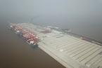 沙龙365登入最大自动化码头上海洋山港四期试运行