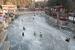 北京颐和园冰场游人如织 市民滑冰享冬日乐趣