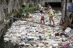 """菲律宾首都""""垃圾河""""触目惊心 污染严重"""