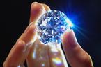 苏富比拍卖行展出102克拉白钻 售价达3370万美元