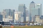 泰晤士河现二战未爆炸弹 伦敦城市机场紧急关闭