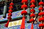 大红灯笼高高挂 全国各地喜迎春节