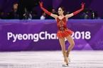 花样滑冰女子自由滑 俄奥运选手扎吉托娃夺冠
