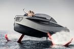 土豪的新玩具!售价777万元的水翼豪华游艇问世