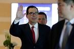 美财长姆努钦率团访华 开始中美经贸磋商