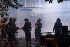 北京双井一居民楼突发起火 暂无人员伤亡